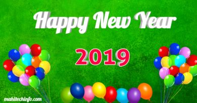 Happy New Year 2019 images download mahitechinfo.com