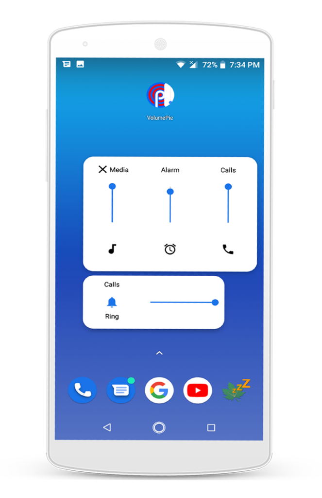Install Android 9.0 volume controls any Android mobile