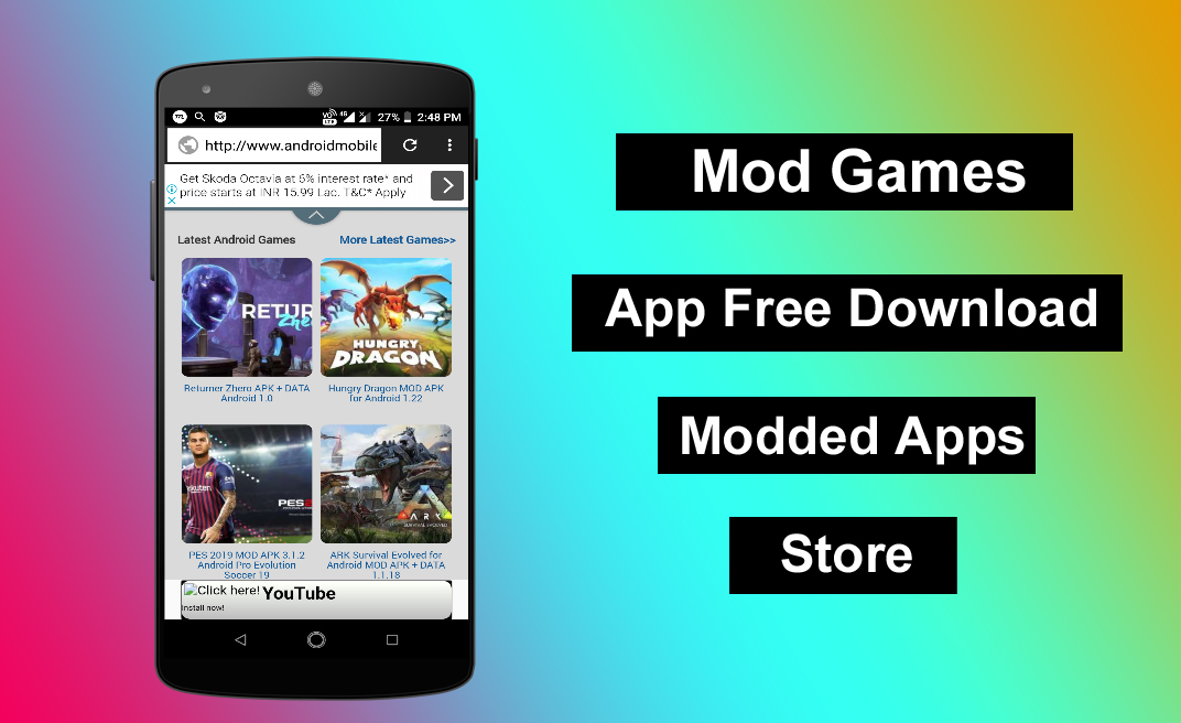 Mod Games Apk App Download for Any Android Device - MAHI
