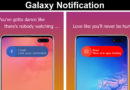 Android Galaxy Notification App Download for Free