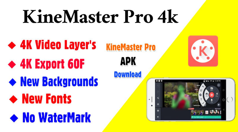 Kinemaster Pro 4k Video Layer Apk App Download