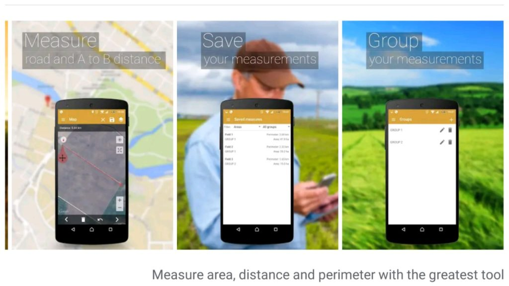 GPS Fields Area Measure Android App Download for Free