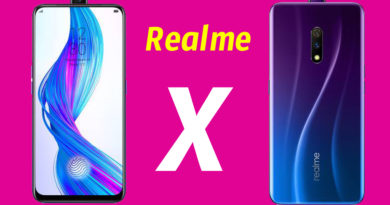 Realme X (Master Edition Onion) 8/128 GB Space Blue 4 /128GB RAM Full Features Price