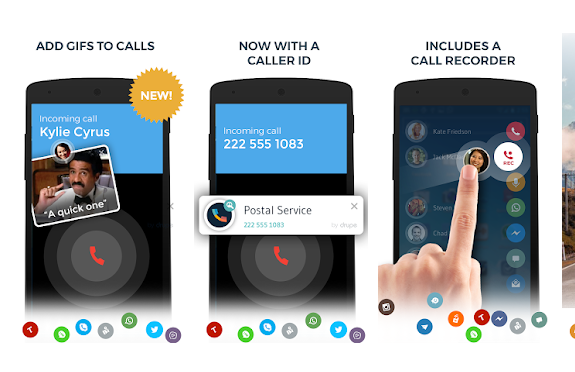Android Drupe App Download Awesome Caller Screen Look - MAHI
