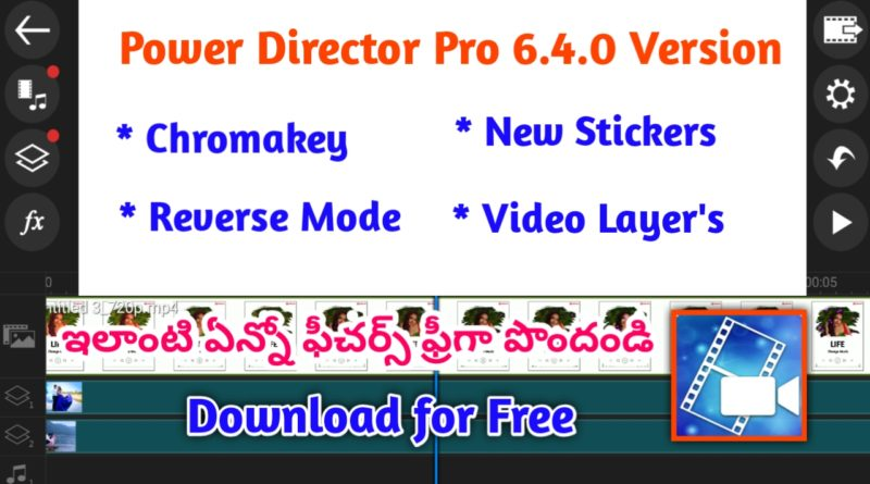 CyberLink Powerdirector Pro V6.4.0 Download fully Unlocked