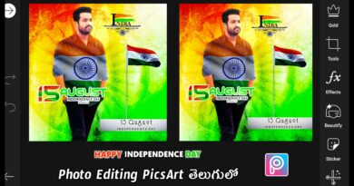August 15th Independence Day Photo Editing PicsArt