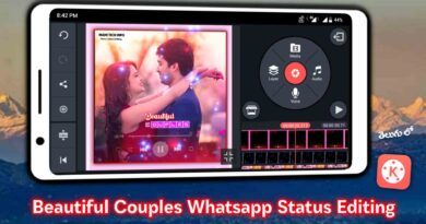 Create Couple Whatsapp Status Video Kinemaster