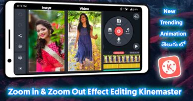 Cinematic Style Photo Effect Editing Kinemaster