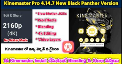 Kinemaster Pro Download for Black Panther Version