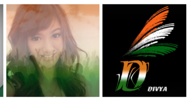 India Flag Photo DP Letter Art App Download